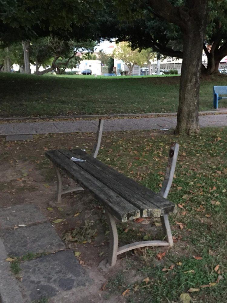Panchina Parco 2