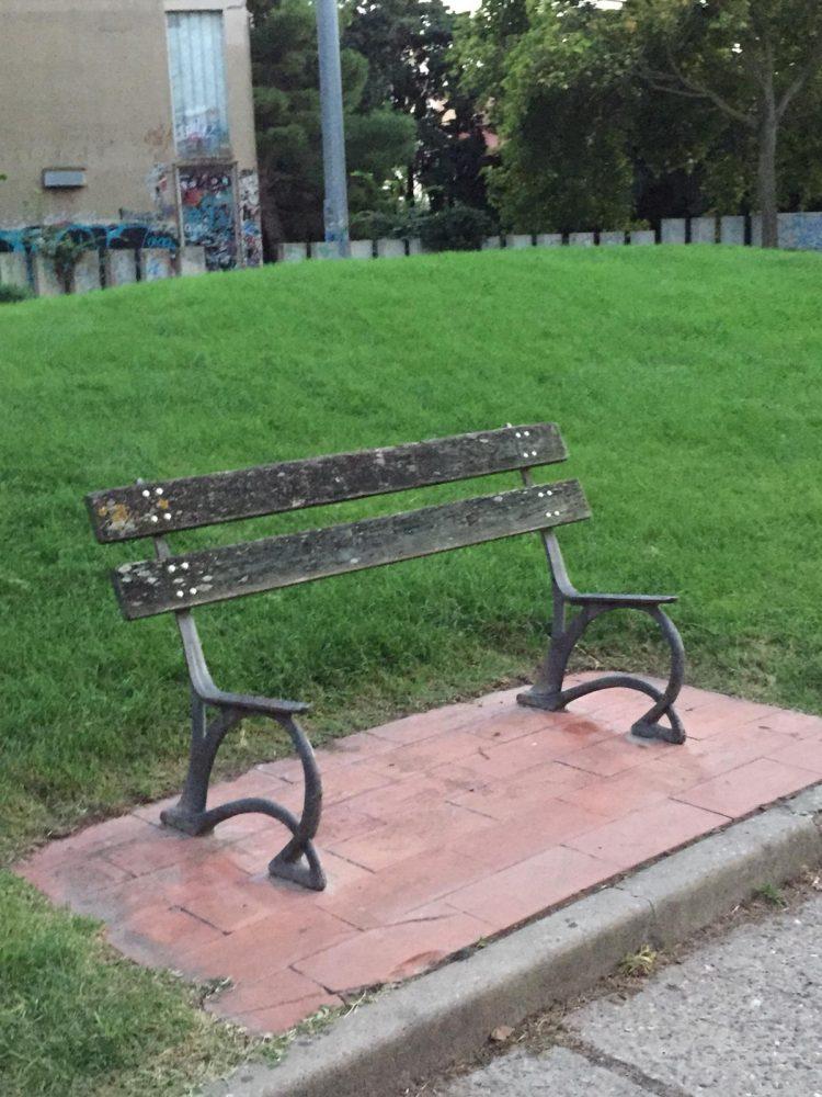 Panchina Parco